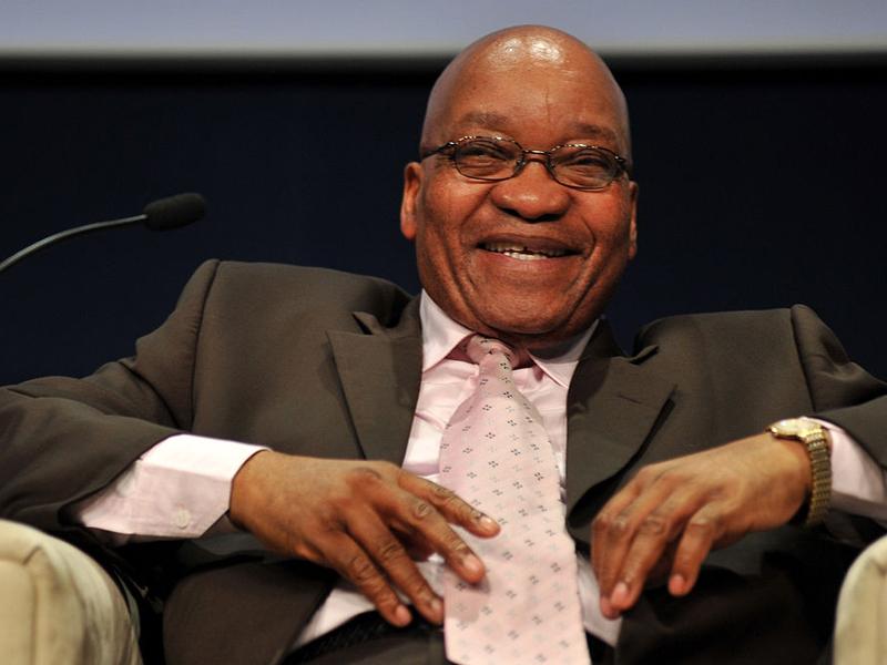 75歲的南非總統祖瑪近期貪污醜聞不斷,執政黨「非洲民族議會」高層開會後,決定罷免他。(資料圖片)