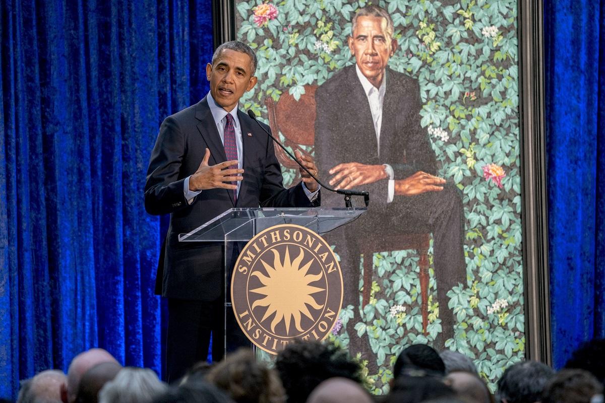 奧巴馬出席揭幕。AP圖片