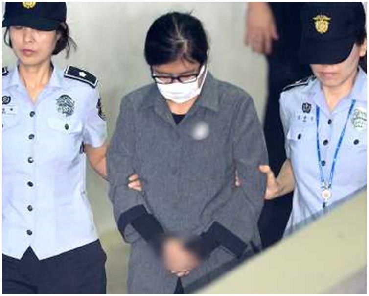 密友崔順實獲判監20年。資料圖片