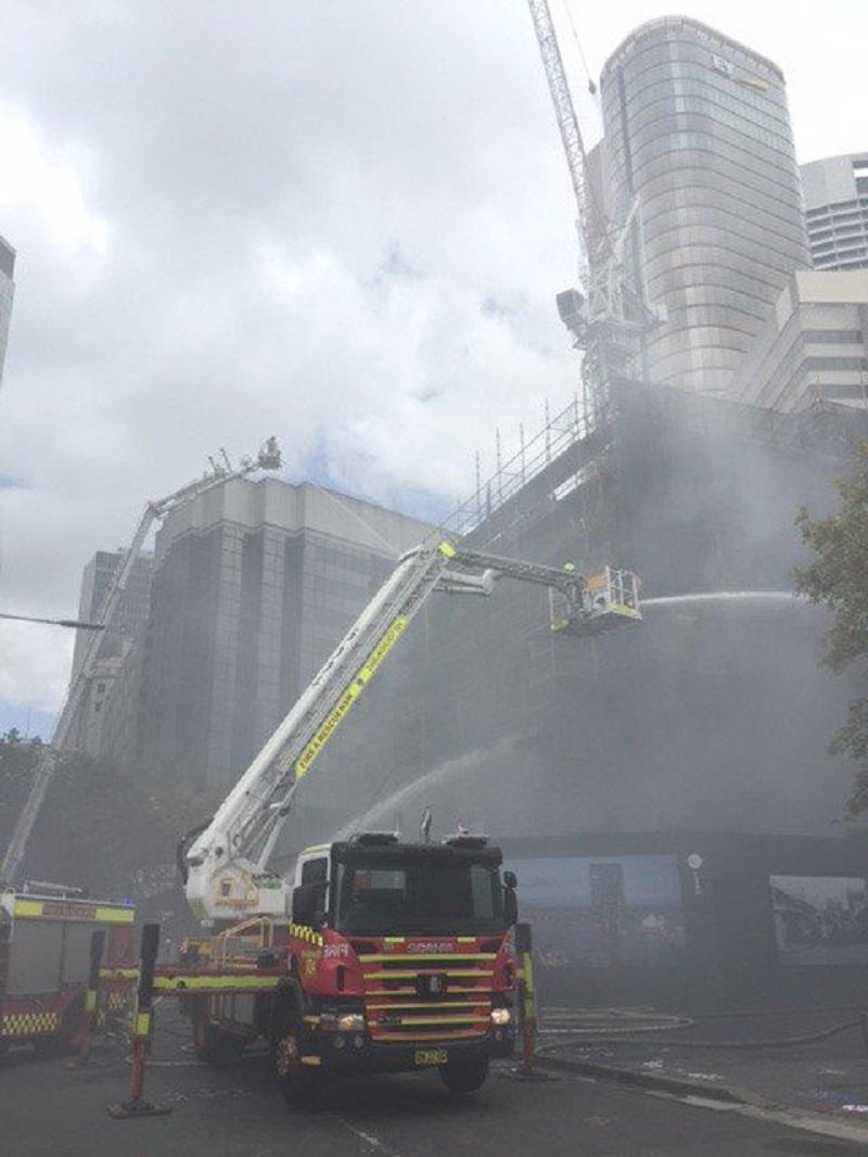 澳洲悉尼大火。網上圖片