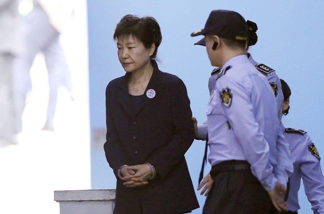 南韓前總統朴槿惠。美聯社