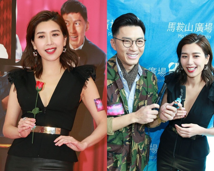 黃智雯演狂野角色,唔怕男友詐型;袁偉豪唔畀傳媒拍下他望黃智雯胸部的相片。