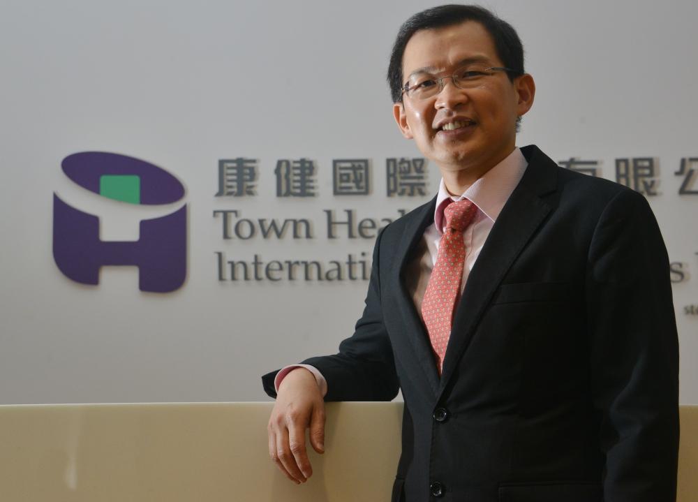康健國際醫療副主席曹貴子。
