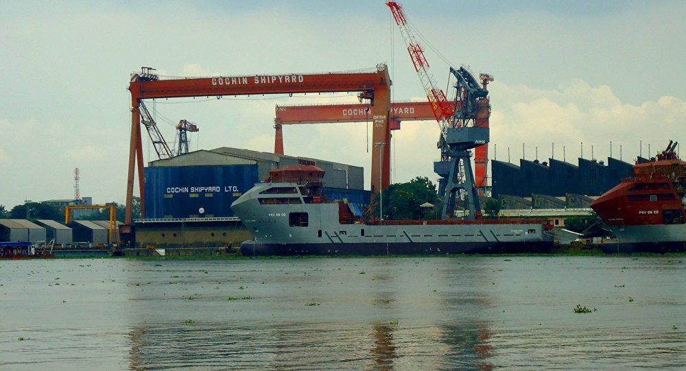 印度船廠。網上圖片