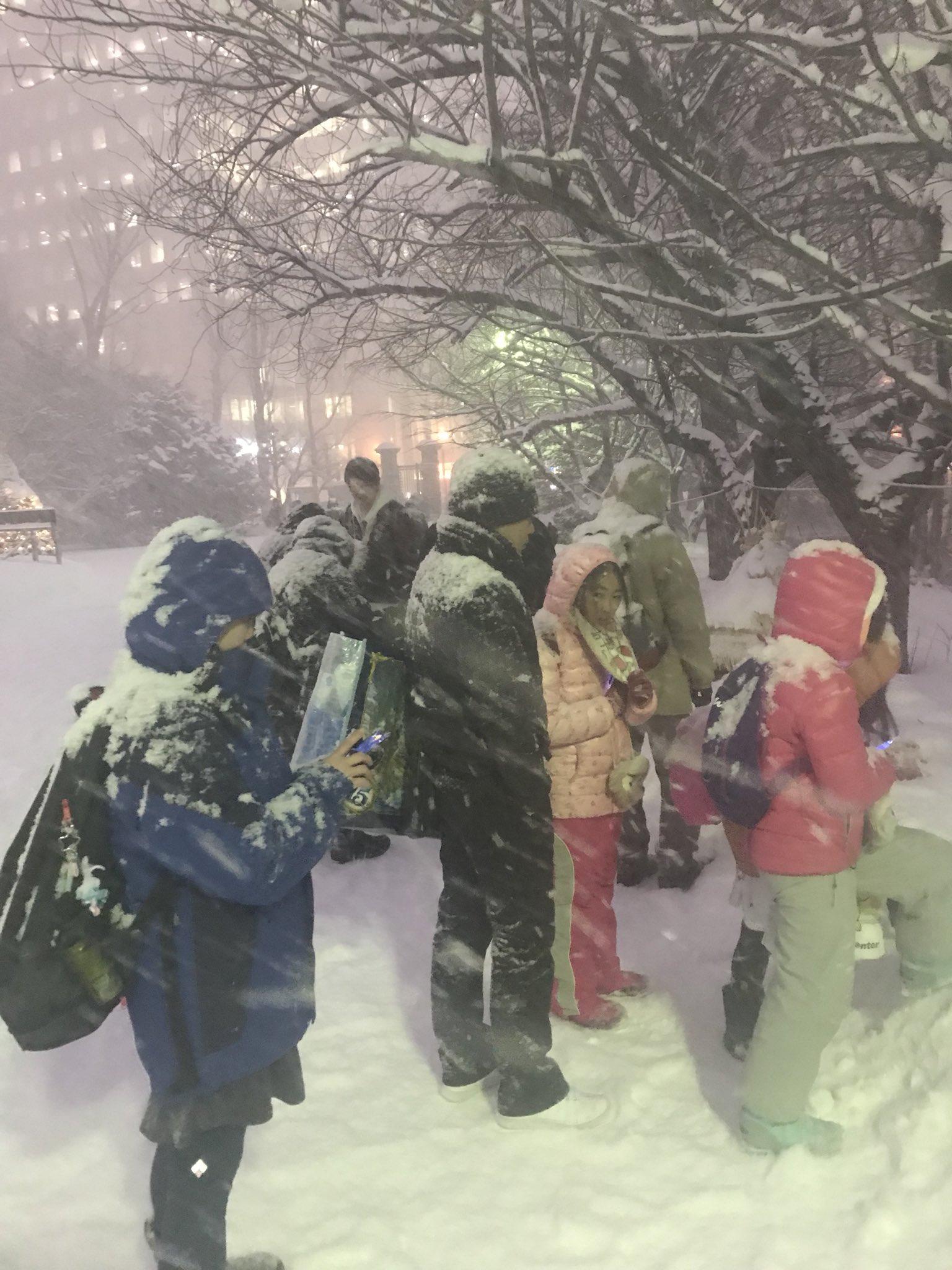 日本海沿岸地區帶來暴雪。網上圖片