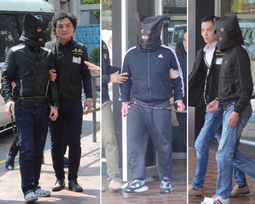 3名疑犯被落案控告合共一項謀殺罪。
