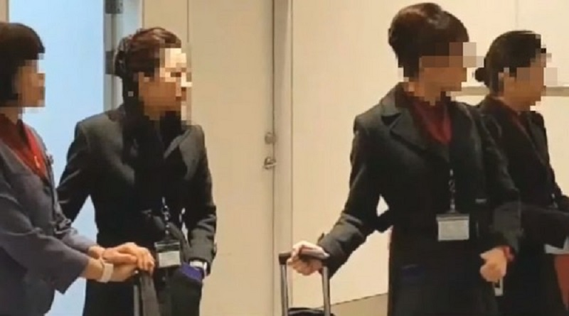華航空姐走私黃金到日本被開除。網上圖片