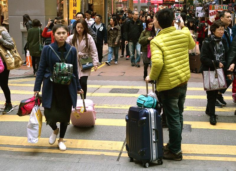 旅發局預測今年旅客量上升3%至5%。資料圖片