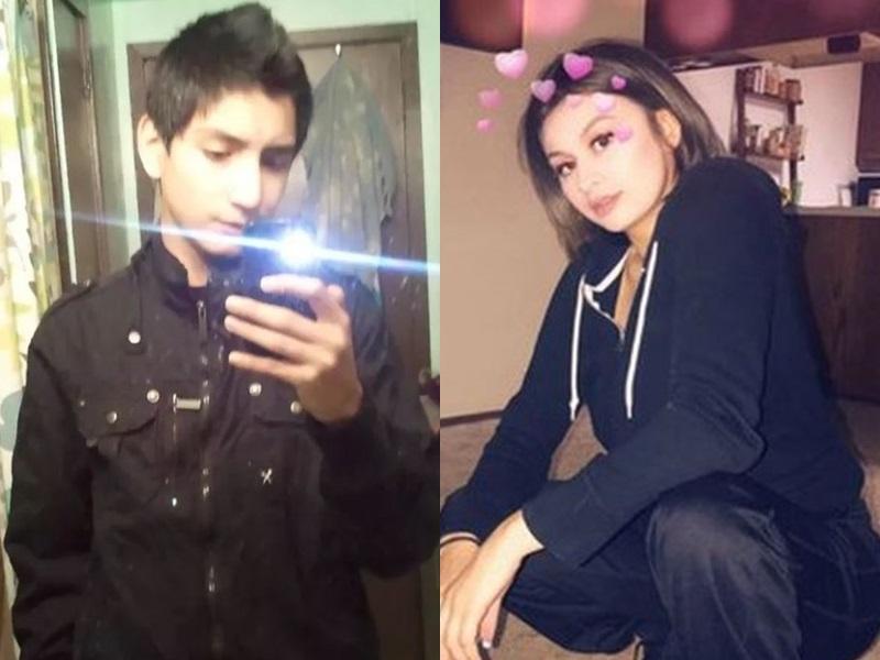 被捕的布萊恩(左圖)及猝死女少艾莉莎(右圖)。網圖