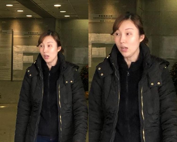 裁判官採納感化官的建議,認為偽造證書一事不反映被告楊頌婷(圖)沒好好工作。郭止晅攝