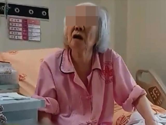 經院方多次勸說下,張婆婆終於在周日(11日)轉住榮總轄下的安老院療養。 網圖