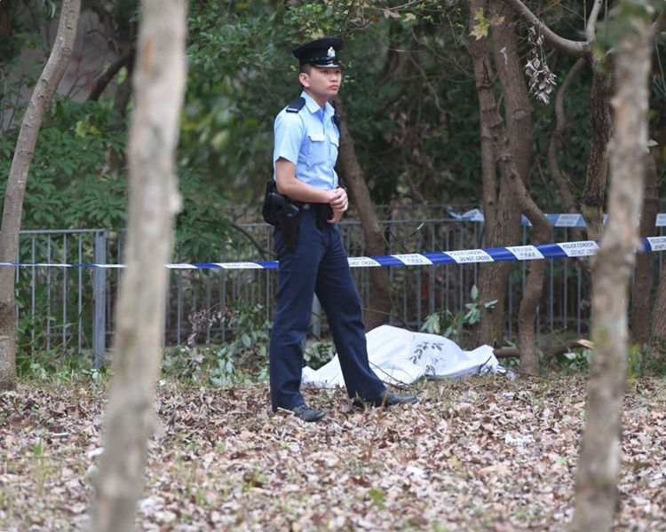 警方及後證實死者為失蹤人士。梁國峰攝