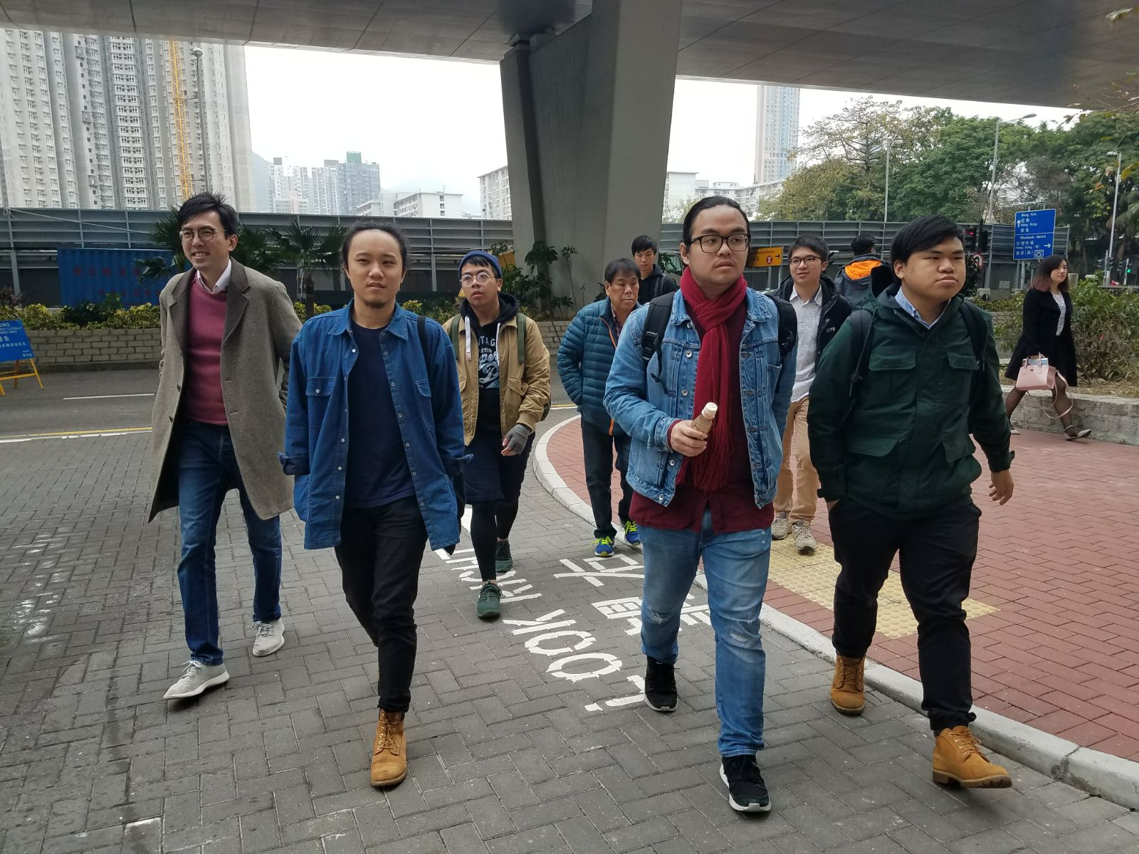案件今在西九龍裁判法院再作預審。黃梓生攝