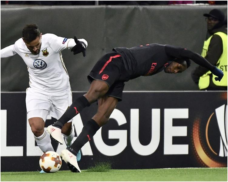阿仙奴作客瑞典球隊奧斯達辛斯,大勝3:0。AP