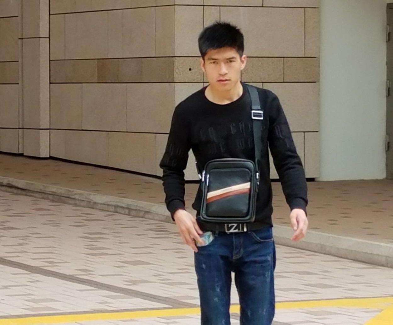 被禁錮的內地男子馬清華,今早出庭作供。黃梓生攝
