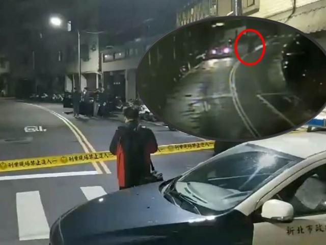 警方根據閉路電視畫面(右上紅圈)已鎖定一名嫌犯追查。
