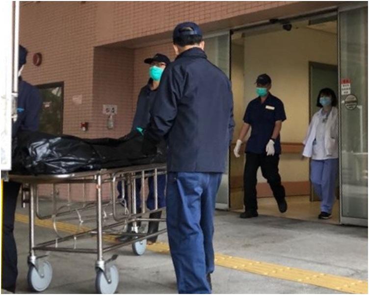 老婦送律敦治醫院搶救後不治。