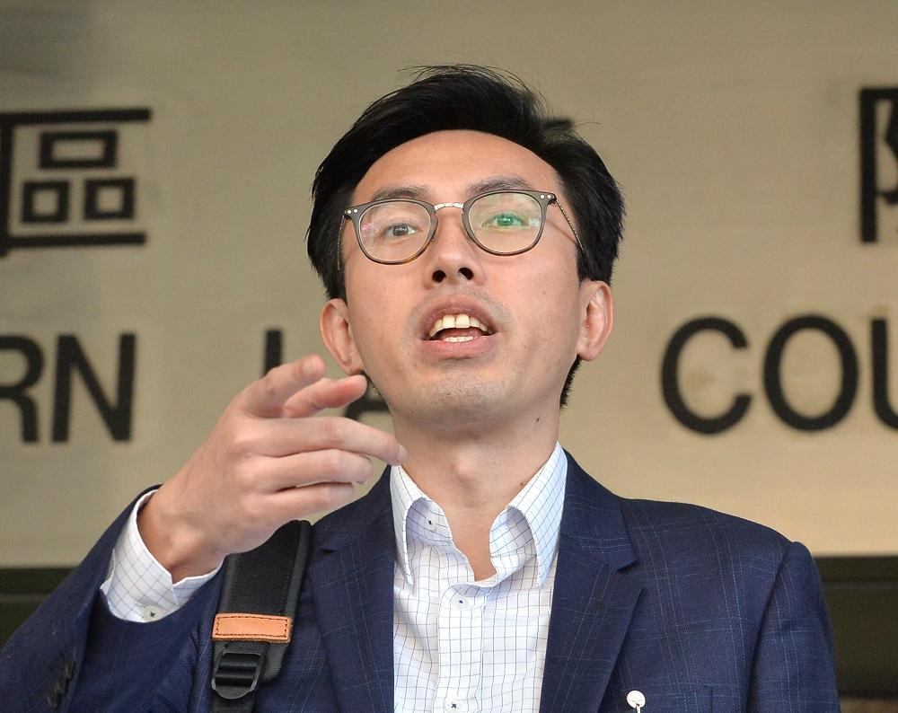 社會民主連線主席吳文遠作供指,自己社交媒體發文不影響案件調查。資料圖片