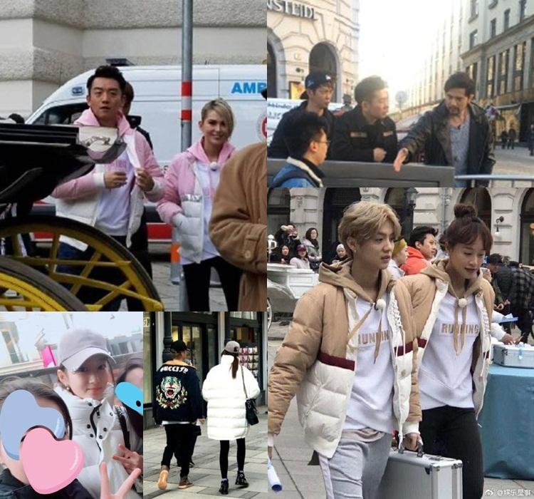 周杰倫現場陪伴昆凌跟鄭愷在維也納街頭進行任務;鹿晗拍節目以外時間,就眼關曉彤上街拍拖。