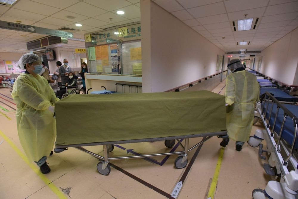 3個月大女嬰猝死。黃文威攝