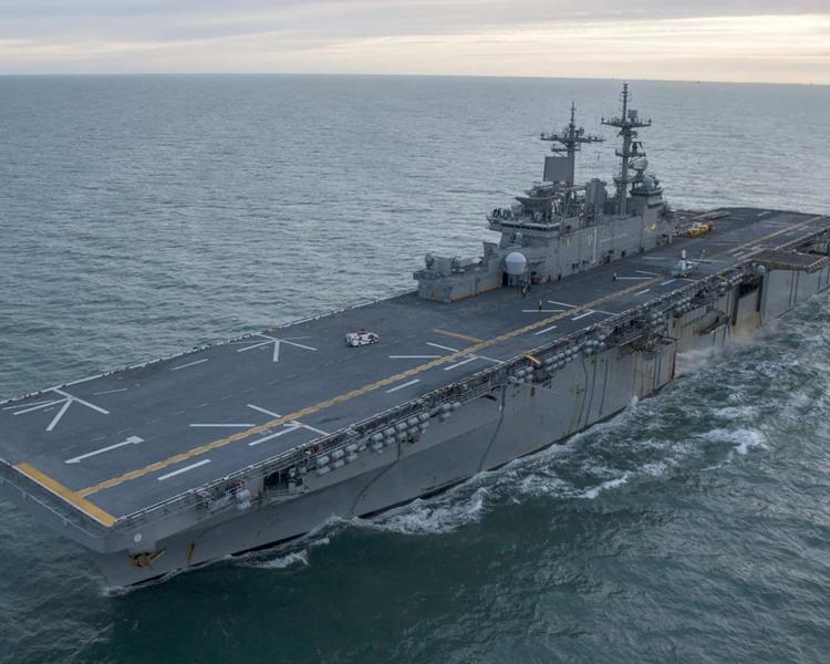 黃蜂號(USS Wasp)。網圖