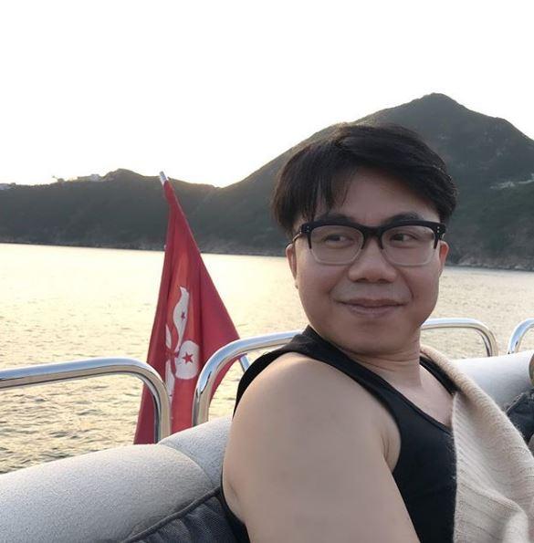 Hanjin去年11月拍攝的照片,可見他仍屬肥仔身型。