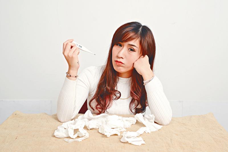 春天潮濕易病,需小心感染流感等傳染病。