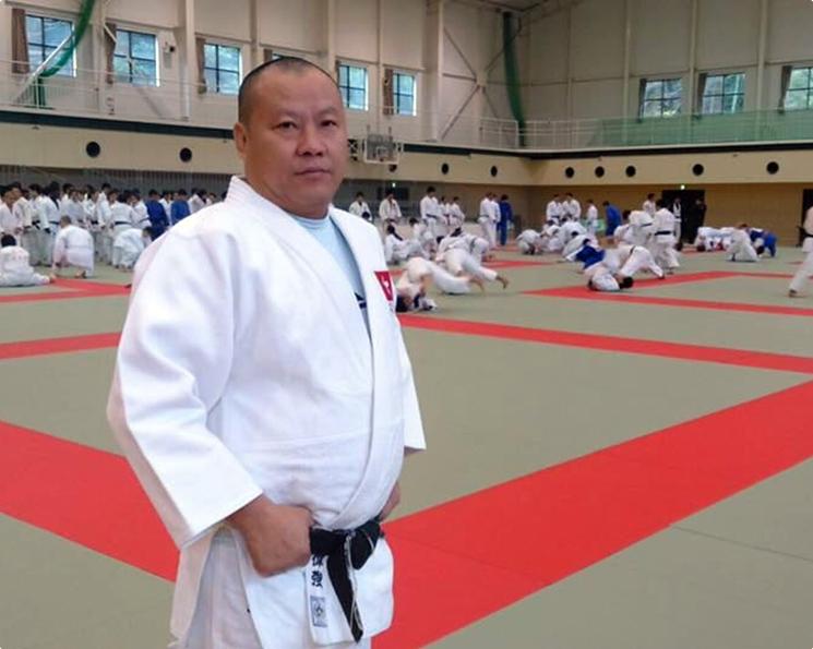 曾出任香港柔道代表隊教練及南華會副總教練羅偉強。網圖