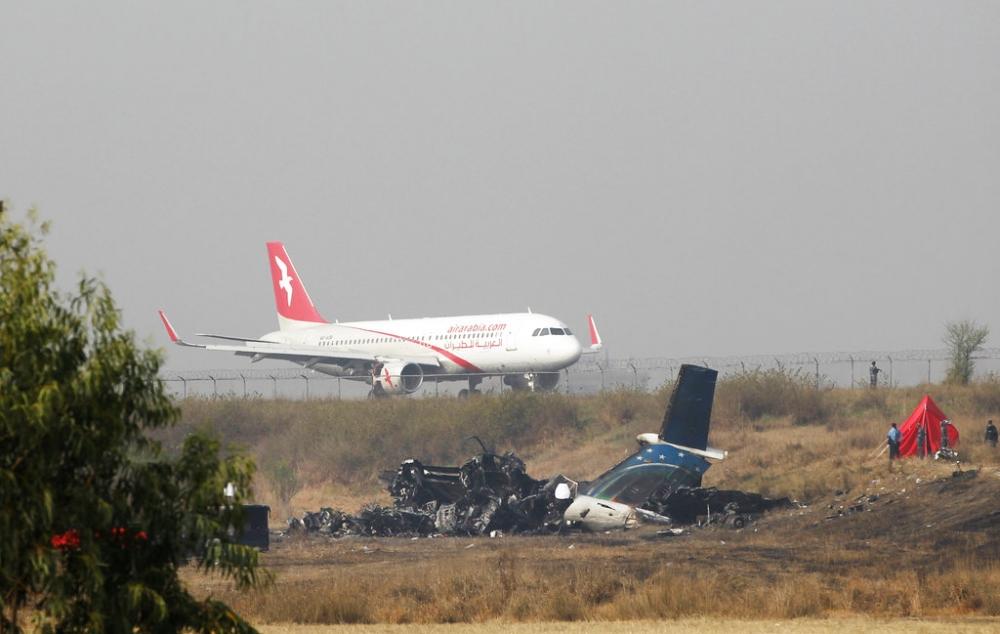 1名中國公民在孟加拉空難遇害。AP圖片