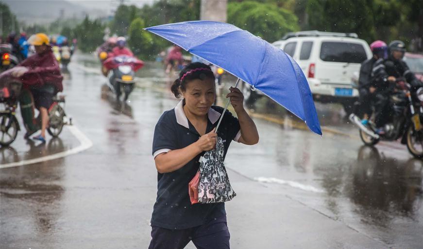 國家氣象局指今年要確保災害天氣不漏報。新華社圖片