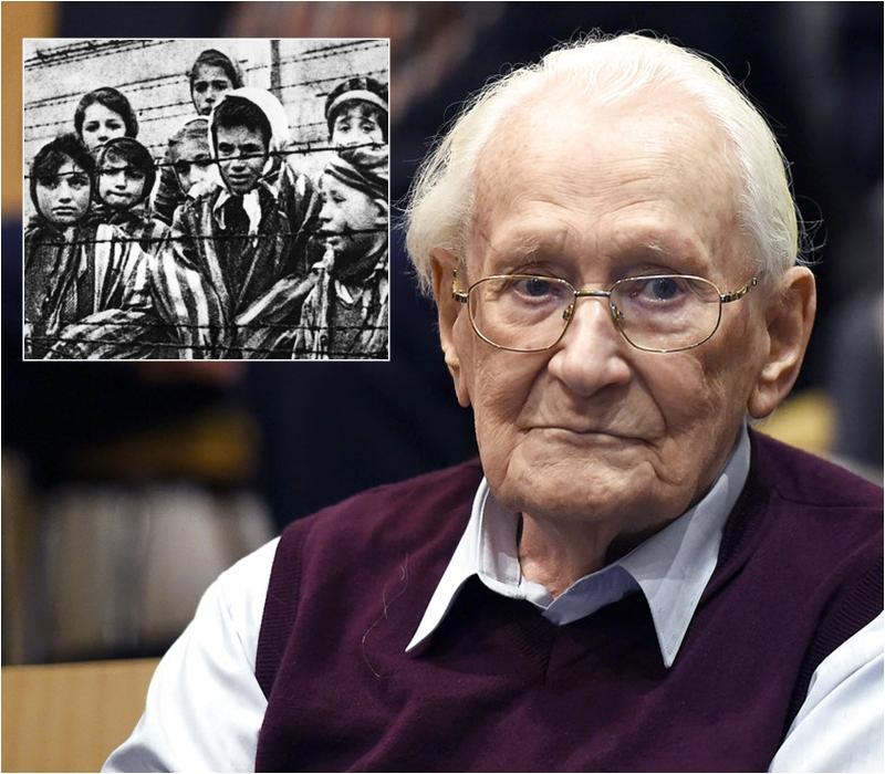前納粹黨衞軍格勒寧曾在奧斯威辛集中營工作。網上/AP圖片