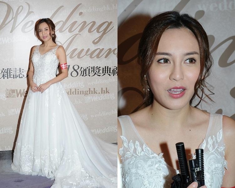 雨僑在本月31日結婚,仍未見過大日子要穿的婚紗及晚裝。