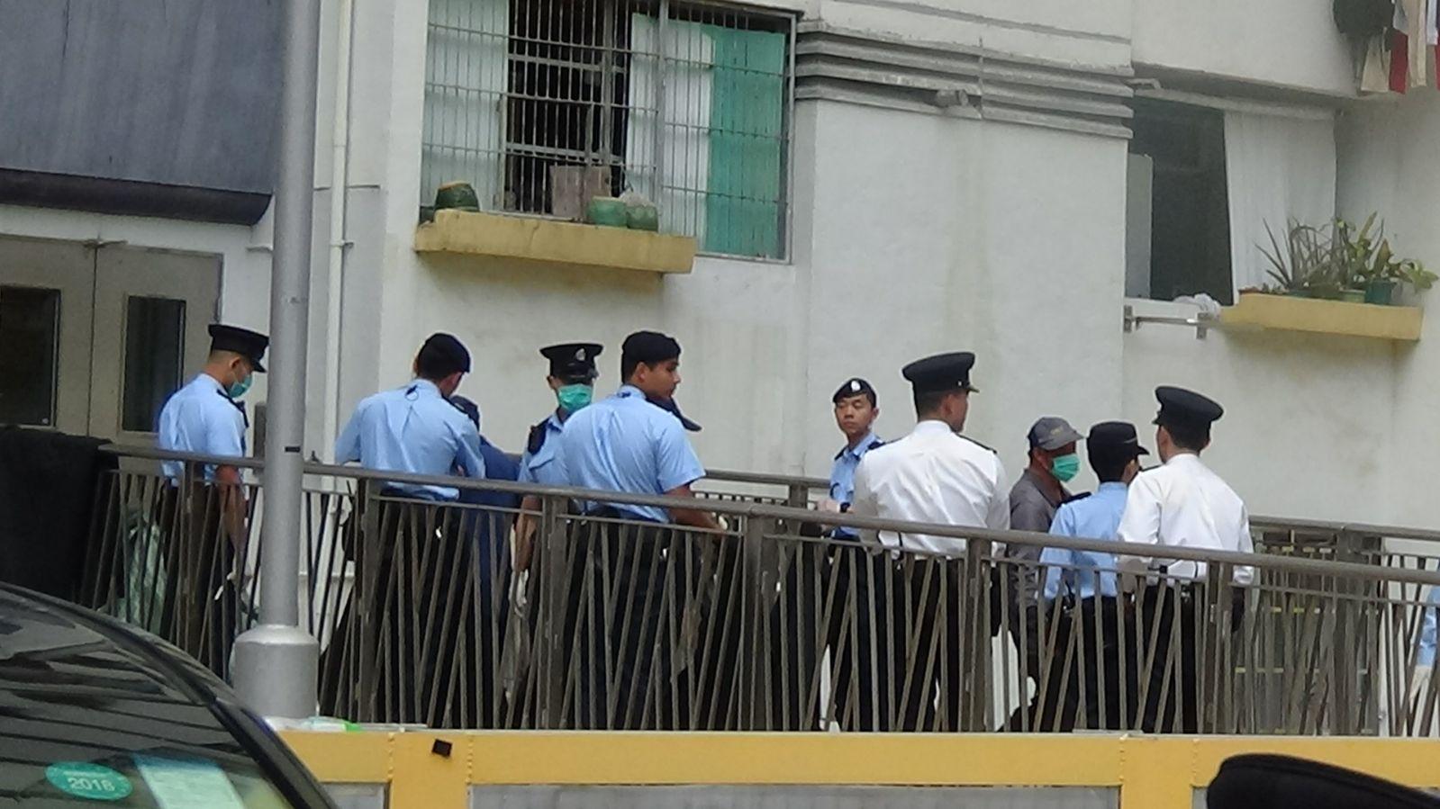警方到場調查。徐裕民攝