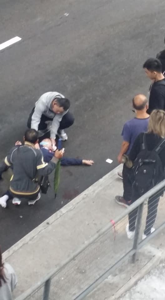 男童一度昏迷。網民Jor Lam攝