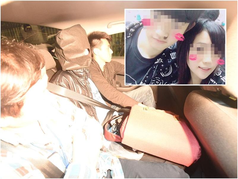 涉於台灣殺死女友的疑犯押回警署。