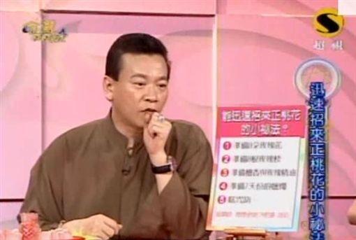 算命師傅朱峰靖曾是台灣電視節目《命運好好玩》固定嘉賓。(網圖)