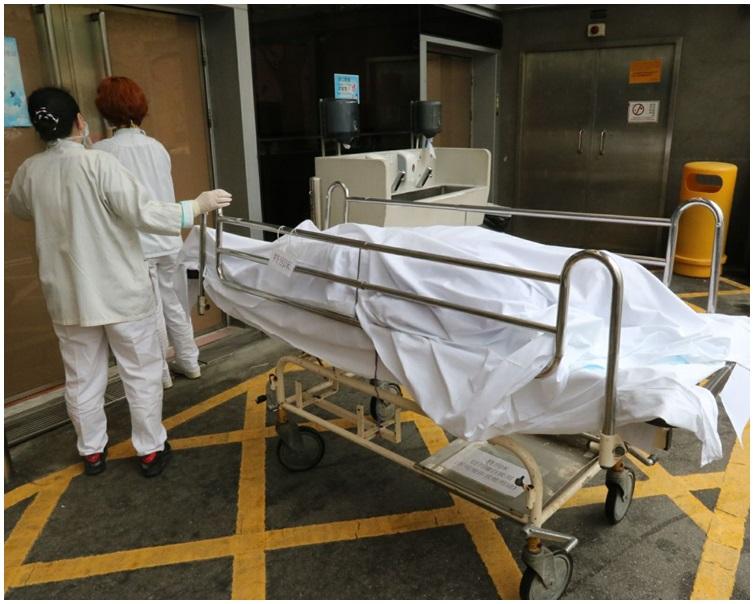 客貨車司機傷重死亡。 讀者提供
