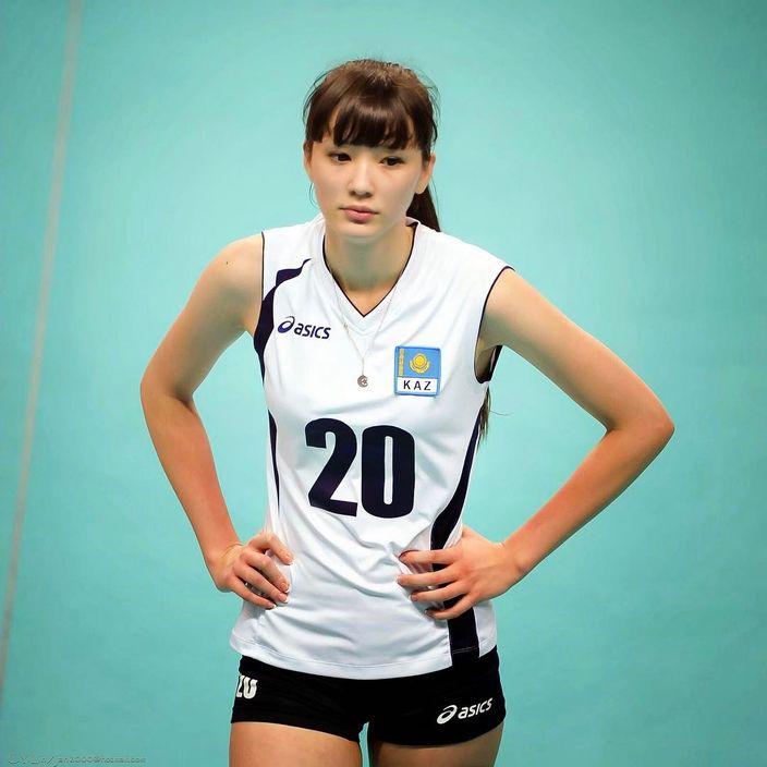 莎賓娜是不少網民心目中的排球女神。網圖