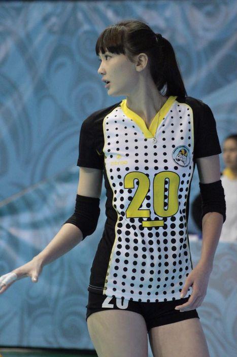 排球女神莎賓娜。網圖