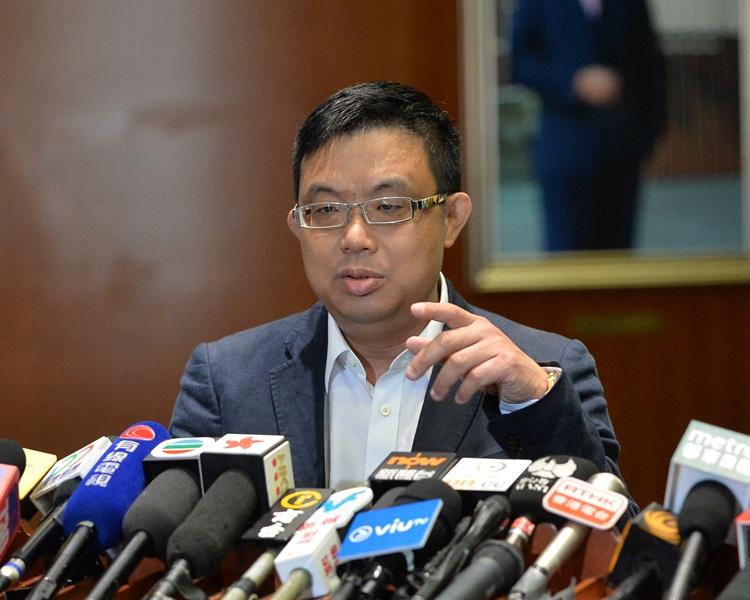 涂謹申表示,案件是在境外發生,香港沒有司法管轄權。資料圖片