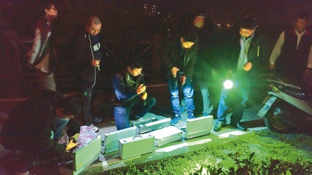 警方昨日找到女死者遺體。網上圖片