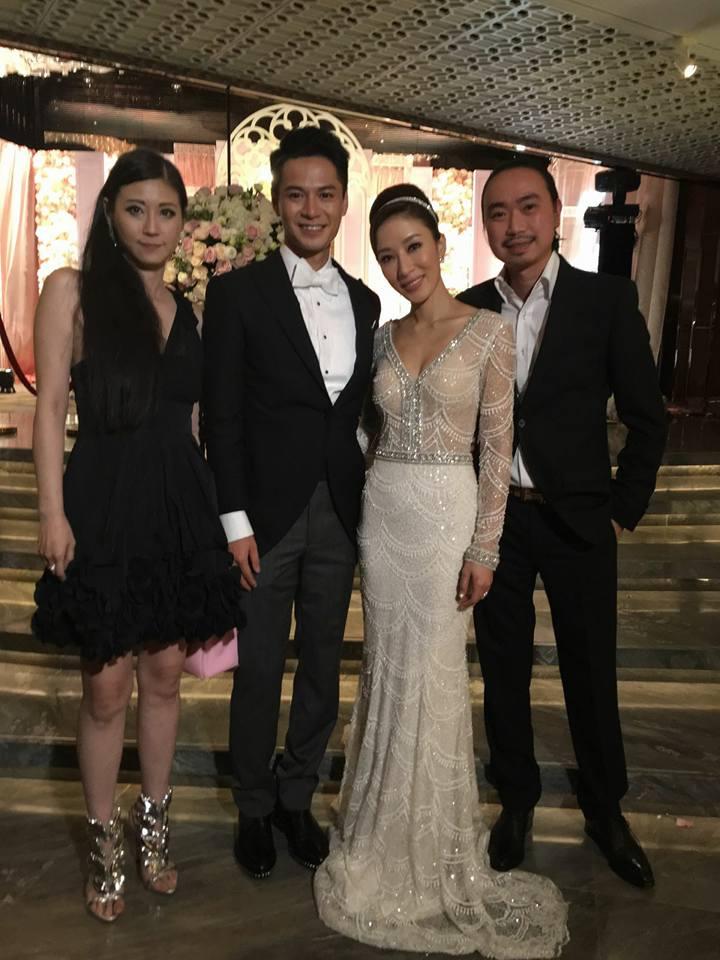 前年丈夫病重,劉綽琪也曾返港出席好友楊怡與羅仲謙的婚宴。