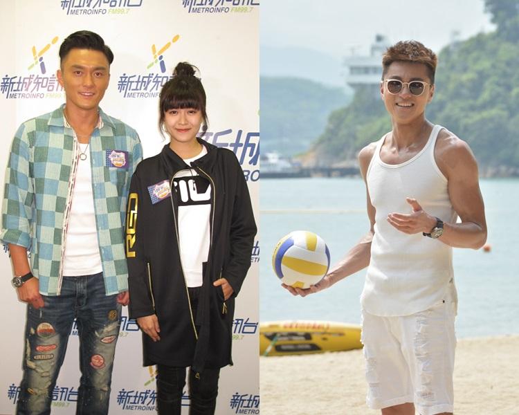 楊明希望新劇收視攀升,指黃浩然晒肌比江嘉敏除衫更有助推高收視。
