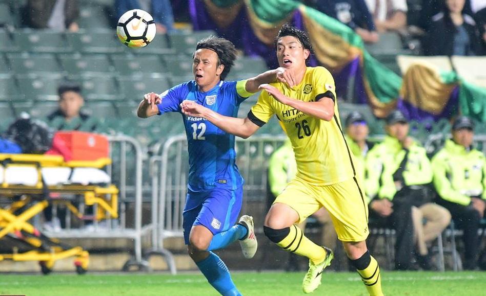 傑志取亞冠盃歷史首勝。傑志facebook圖片
