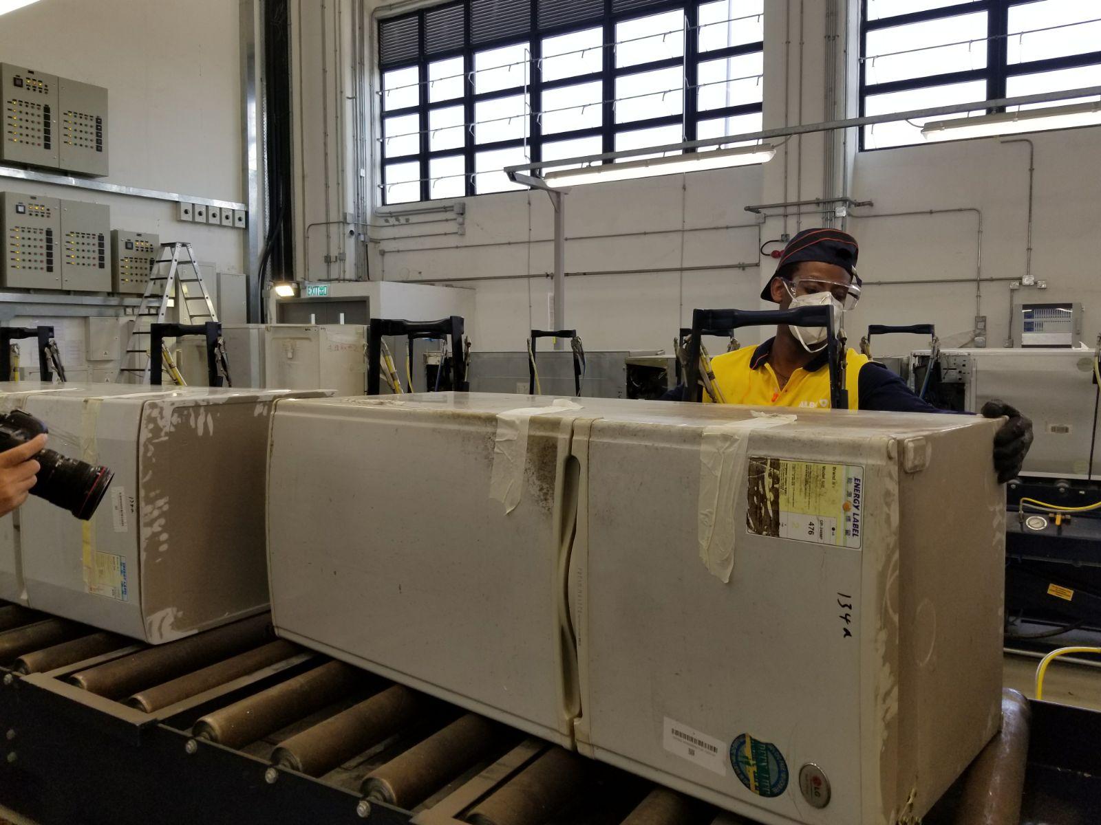 歐陸保預計首年處理量為6000公噸廢電器及電子產品。