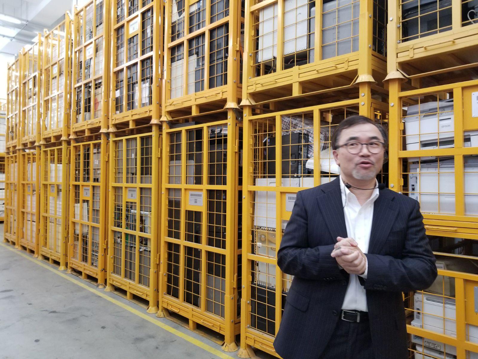 林國麟介紹,廠內有4條處理線。