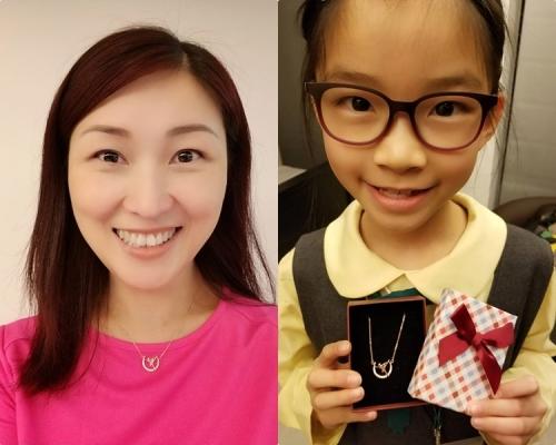 陳琪囡囡勁生性 用曬零用錢買禮物送媽媽