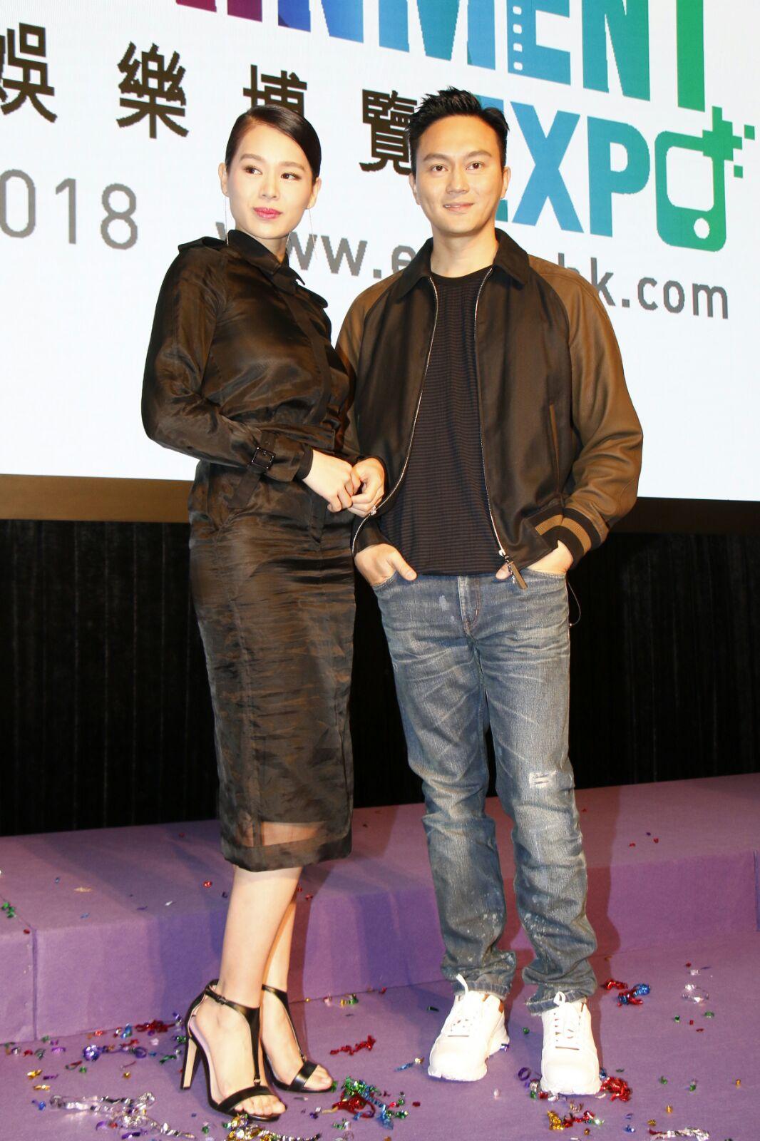 胡杏兒在新片中演張智霖女友。