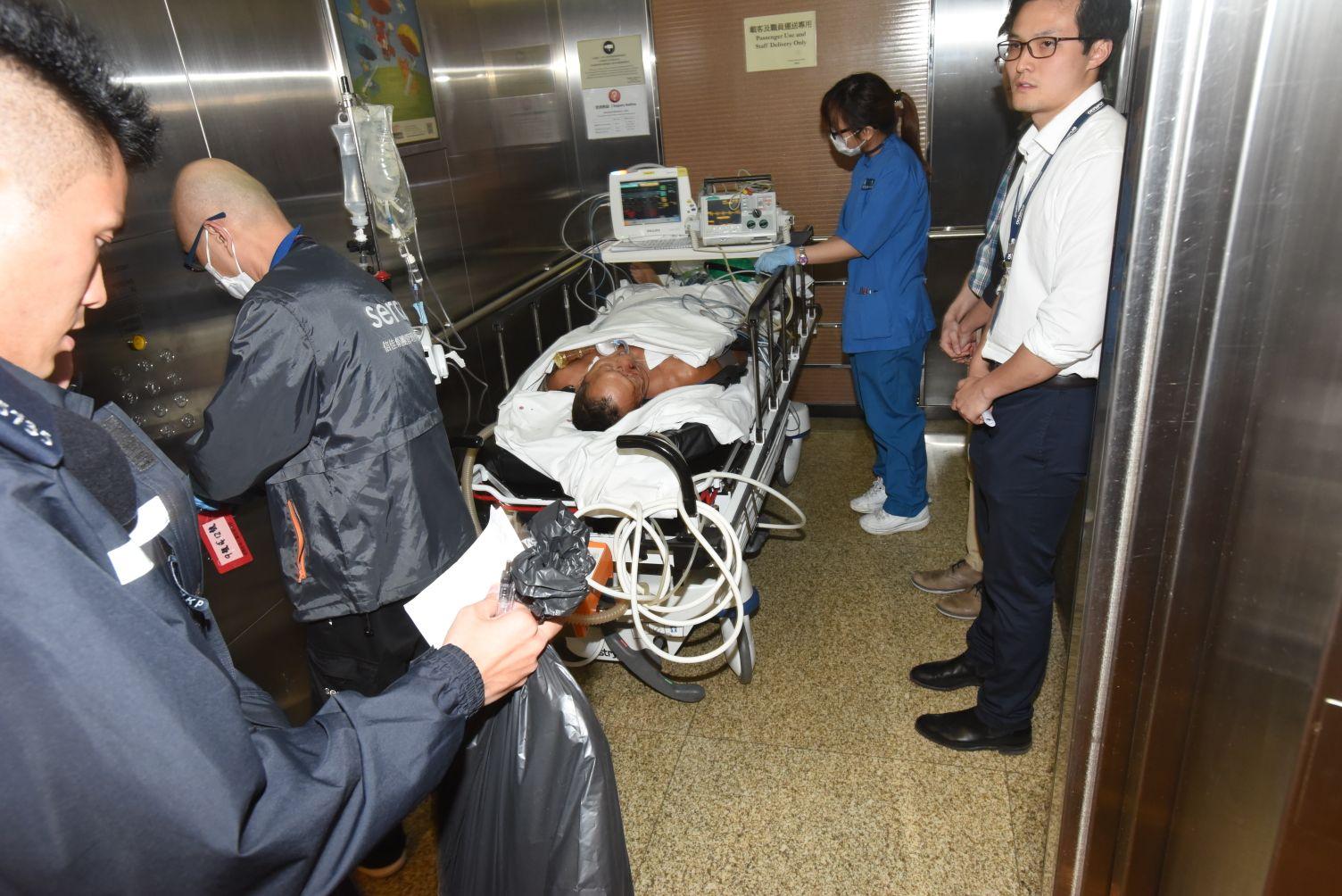 沙田瀝源邨老翁爭執遇襲昏迷送院後不治。