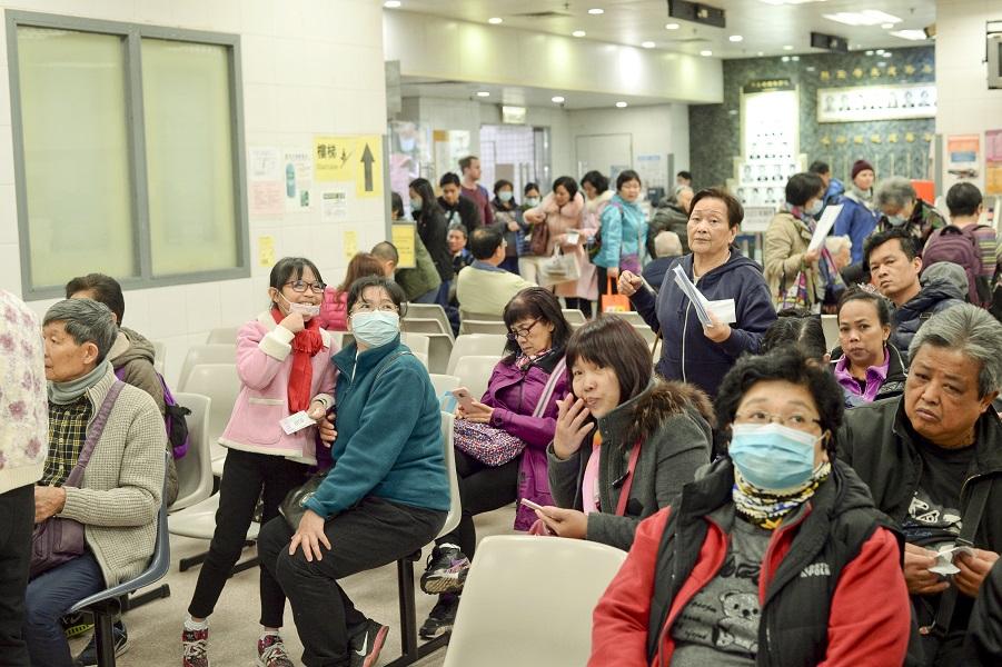衛生防護中心指季節性流感活躍程度下降。資料圖片